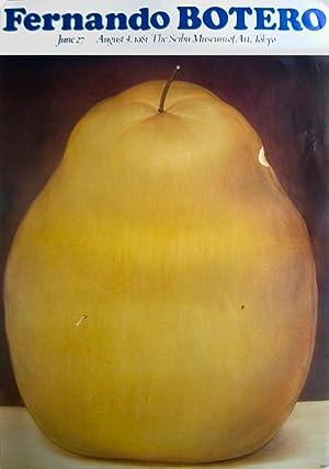 Fernando Botero-La Manzana-1981 Poster: Botero, Fernando
