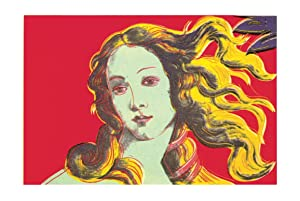 Andy Warhol-Birth of Venus-Red-2000 Poster