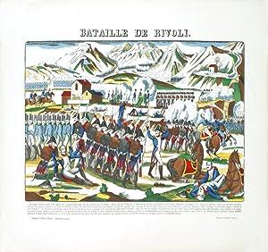 Pellerin-Napoleon-Bataille de Rivoli-1912 Woodblock: Pellerin