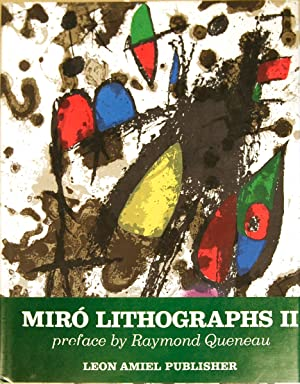 Miro Lithographs, Vol 2 1953-1963-1975 Book