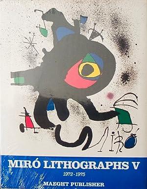 1972-1975. Volume 5, Miro Lithographs V (English)-1975: Cramer, Patrick