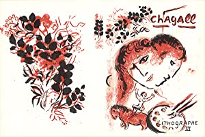 Marc Chagall-Lithographe III-1974 Mourlot Lithograph: Chagall, Marc