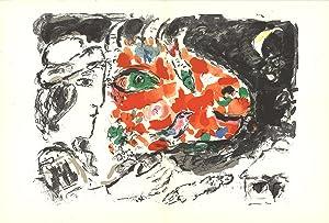 Marc Chagall-Derriere le Miroir, no.198, pg 14,15-1972: Chagall, Marc