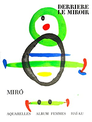 Miro Derriere Le Miroir, no.169-1967 Book