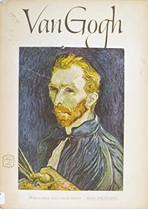 Vincent van Gogh- 16 Beautiful Full Color Prints-1952 Book