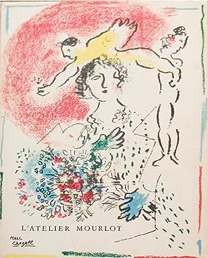 Lithographies de l'Atelier Mourlot-1965 Mourlot Book: Chagall, Marc