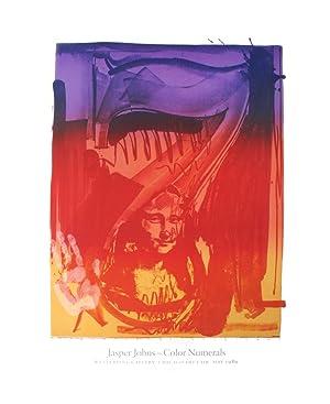 Jasper Johns-Figure 7-1989 Poster: Johns, Jasper