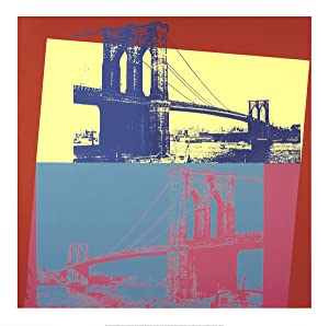 Andy Warhol-Brooklyn Bridge-2014 Giclee: Warhol, Andy