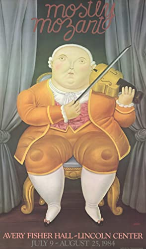 Fernando Botero-Mostly Mozart-1984 Poster: Botero, Fernando