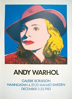 Andy Warhol-Ingrid with Hat-1983 Poster