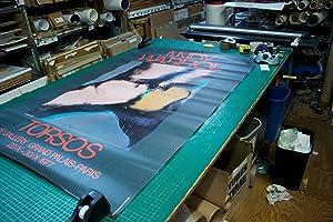 "ANDY WARHOL Torsos 60"" x 40"" Poster 1977 Pop Art Green, Multicolor: Warhol, Andy"