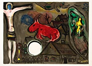 Marc Chagall-DLM Double Page-Lithograph: Chagall, Marc