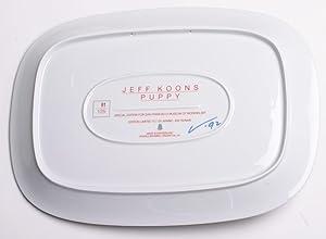 "JEFF KOONS Puppy 11"" x 15"" Plate 1992 Pop Art Gray: Koons, Jeff"