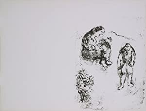 Marc Chagall-Dans L'Atelier-1960 Mourlot Lithograph: Chagall, Marc