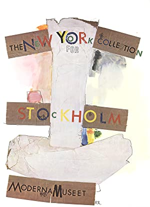 Robert Rauschenberg-New York Collection for Stockholm-1968 Poster