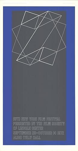 Josef Albers-The 10th New York Film Festival-1972: Albers, Josef