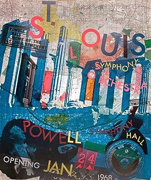 Robert Rauschenberg-St. Louis Symphony Orchestra-1968 Offset Lithograph-SIGNED: Rauschenberg, Robert