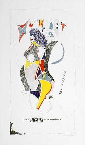 Richard Lindner-The Resistible Rise of Arturo Ui-1968 Serigraph