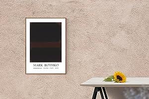 "MARK ROTHKO Marlborough Galleria D'arte Roma 38.5"" x 25.5"" Lithograph 1970 Abstract ..."