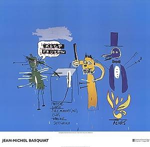 Jean-Michel Basquiat-The Dingoes that Park Their Brain with Their Gum-2002: Basquiat, Jean-Michel