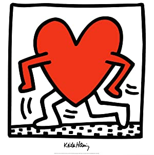 Keith Haring-Untitled (1984)-1988 Poster: Haring, Keith