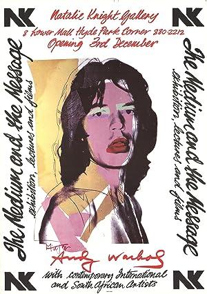 Andy Warhol-Mick Jagger-1974 Poster: Warhol, Andy
