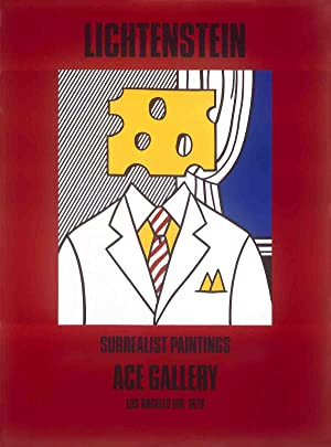 Roy Lichtenstein-Surrealist Paintings (Cheese Head)-1978 Poster