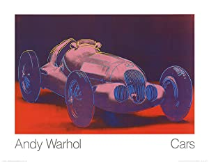 Andy Warhol-Mercedes W 125 (1937)-1989 Poster: Warhol, Andy