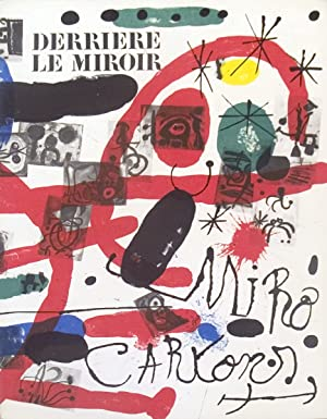 Miro Derriere le Miroir, No.151-152-1965 Book