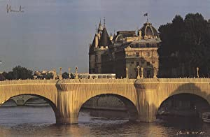 Javacheff Christo-le Pont Neuf-1985 Offset Lithograph-SIGNED