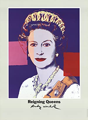 Andy Warhol-Queen Elizabeth II of England from Reigning Queens-1986 Poster