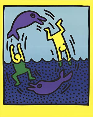 Keith Haring-Untitled (Delphine,1983)-1989 Poster: Haring, Keith