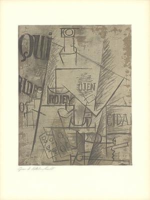 Pablo Picasso-Papiers Colles-1966 Mourlot Lithograph: Picasso, Pablo