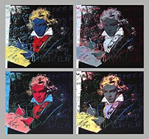 Andy Warhol-Beethoven x 4-1998 Poster