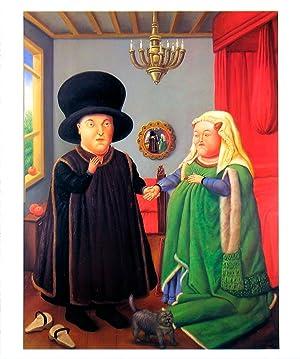 Fernando Botero-The Arnolfini after van Eyck-1999 Poster: Botero, Fernando