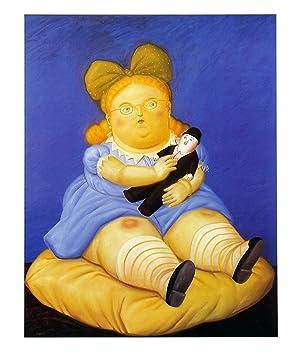 Fernando Botero-La Muñeca-1999 Poster: Botero, Fernando