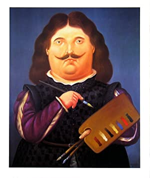 Fernando Botero-Portrait Of Velazquez-1999 Poster: Botero, Fernando