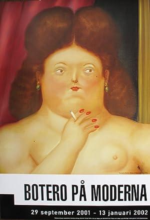 Fernando Botero-Woman Smoking-2001 Poster: Botero, Fernando