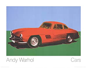 Andy Warhol-300 Sl Coupe (1954)-1989 Poster: Warhol, Andy