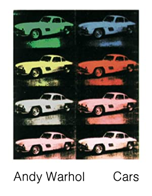 Andy Warhol-300 SL Coupe (1954) (Collage)-1989 Poster: Warhol, Andy
