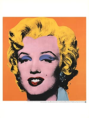 Andy Warhol-Marilyn, Orange Shot on White Background-1992: Warhol, Andy