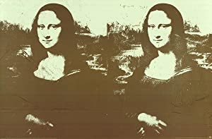 Andy Warhol-Two Golden Mona Lisas (Lg)-1990 Poster