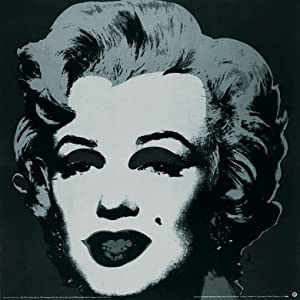 Andy Warhol-Marilyn Black (sm)-1999 Poster