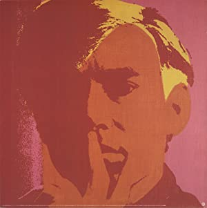 Andy Warhol-Self Portrait-Orange-2000 Poster: Warhol, Andy