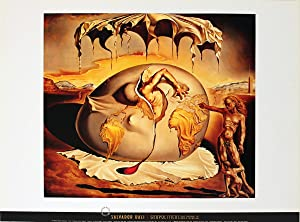 Salvador Dali-Geopoliticus Child Watching the Birth of the New Man-Poster