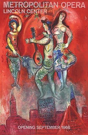Marc Chagall-Carmen-1966 Mourlot Lithograph: Chagall, Marc