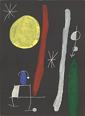 Joan Miro-DLM No. 164/165-1967 Lithograph
