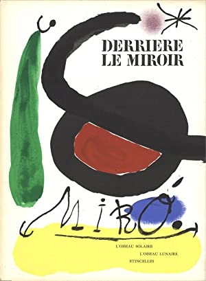 Joan Miro-DLM No. 164/165 Cover-1967 Lithograph