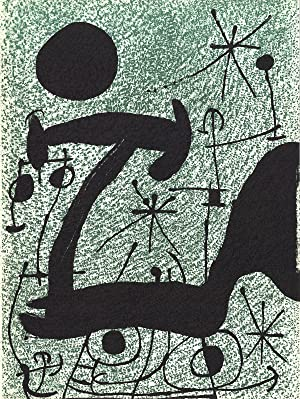 Joan Miro-Untitled-1967 Lithograph