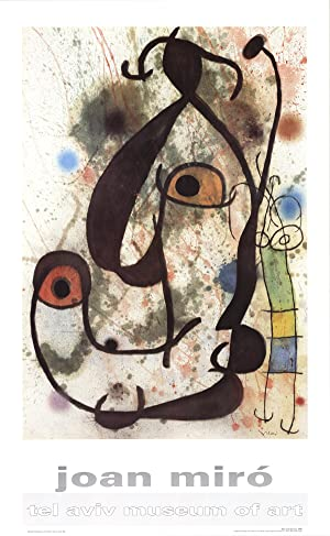 Joan Miro-Man and Woman-Poster